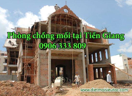 Phong chong moi cho công trình xây dựng tại Tiền Giang