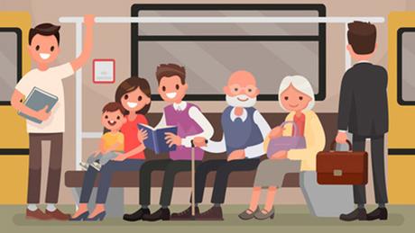 12 Quy tắc ứng xử nơi công cộng của người lịch sự