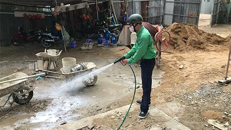Phòng mối công trình xây dựng cho công ty TRẦN LÊ GIA quận 9