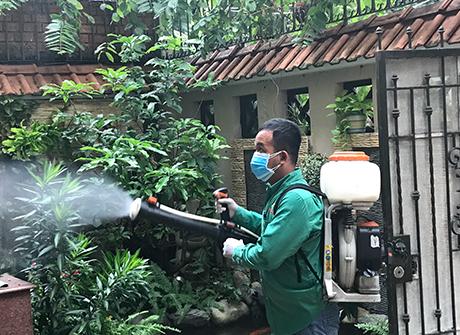 Phun thuốc diệt muỗi cần chú ý 4 điểm sau