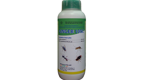 Ảnh:  Thuốc diệt côn trùng GINGER 10 SC