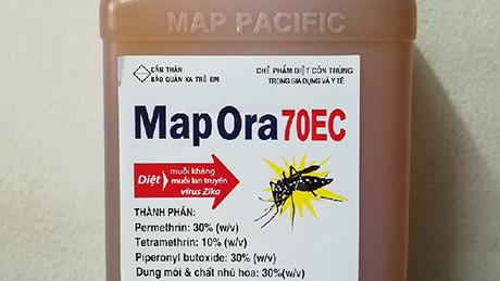 Ảnh:  Thuốc diệt côn trùng MAP ORA 70 EC