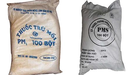Thuốc phòng chống mối dạng bột pms 100